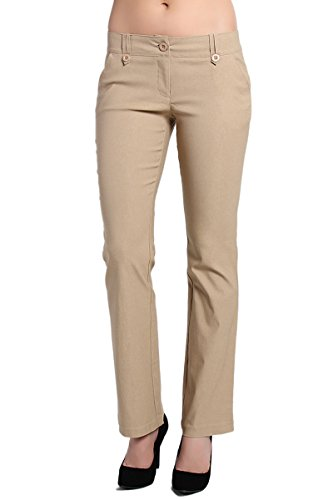 Tailored Bootcut Trousers - 6