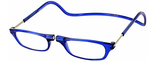 Clic Magnetic Reading Glasses in Blue ; +2.00