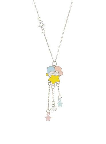 SANRIO Little Twin Stars Dangle Pendant Necklace ()