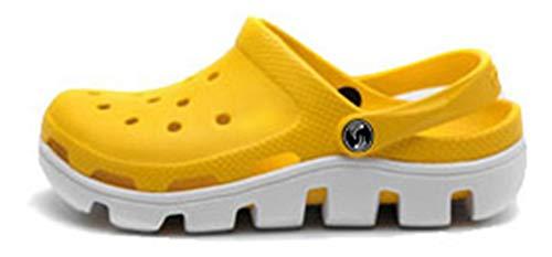 40 Femaroly Yellow White EU Uomo Sandali WzznZSO