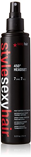 Sexy Hair Style Headset Heat Defense Setting Spray, 8.5 Ounc