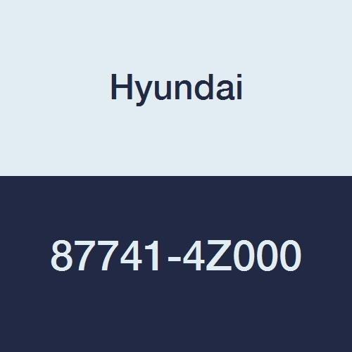 Genuine Hyundai 87741-4Z000 Quarter Garnish Assembly, (Quarter Garnish)
