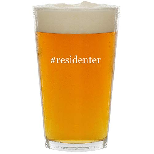 Price comparison product image #residenter - Glass Hashtag 16oz Beer Pint
