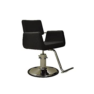 Amazon.com: Salón de belleza estilo silla Aron Negro Muebles ...