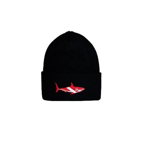 Trident Dive Shark Beanie (Diver Embroidered Cap)