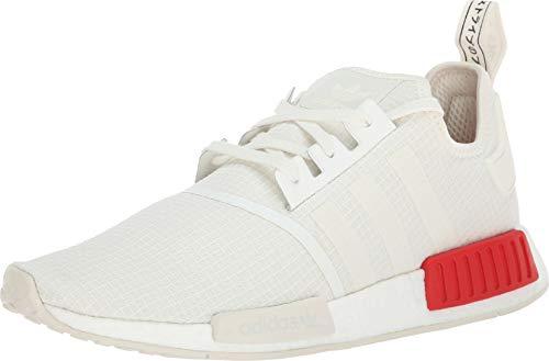 adidas Originals Men's NMD_R1 Off-White/Off-White/Lush Red 6.5 D US