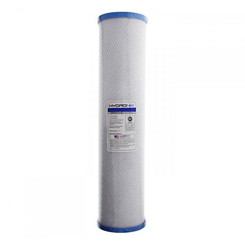 Hydronix 20'' BIG BLUE Carbon Block Cyst Filter - .5 micron by Hydronix