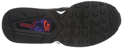Nike Blck / Wht-Ttl Crmsn-dk Prpl Dst, Zapatillas de Deporte para Niños Negro (Blck / Wht-Ttl Crmsn-Dk Prpl Dst)