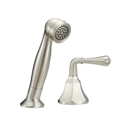 Mirabelle MIRKW2RTDG Key West 1.75 GPM Single Function Hand Shower with Diverter,