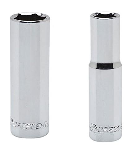Crescent CDDS14 1/4' Drive, 7mm Deep Socket - 6 Point Crescent CDDS14 Home Hand Tools Sockets Metric