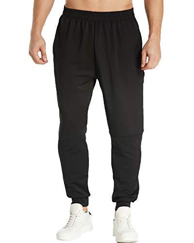 Sarouel Pantalons Sport Modchok Homme Noir Slim 1 Bas Sweat De Survêtement Pants Fit wx84t8