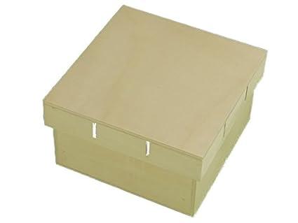 Caja madera. Tapa para cinta. Para pintar. Manualidades y decoración