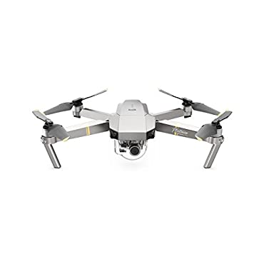 DJI Mavic Pro Single Platinum Portable Collapsible Drone Quadcopter with 4K Professional Camera Gimbal