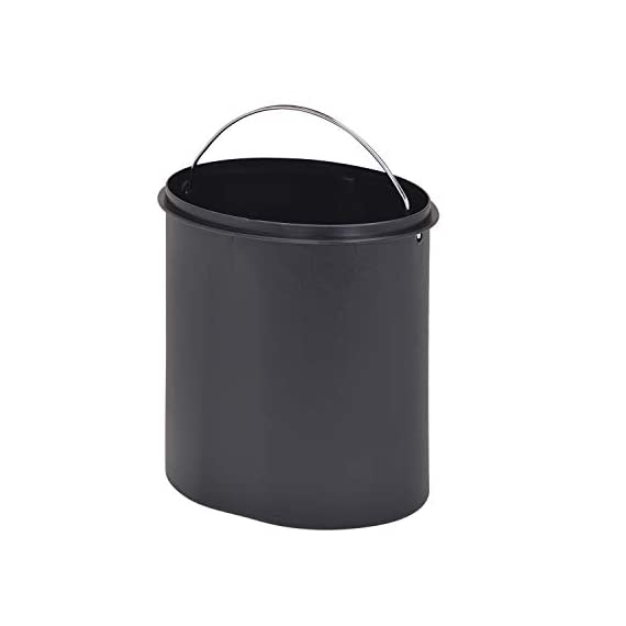 Bathla Contempo Stainless Steel Pedal Step Dustbin - Small (5 L) 7