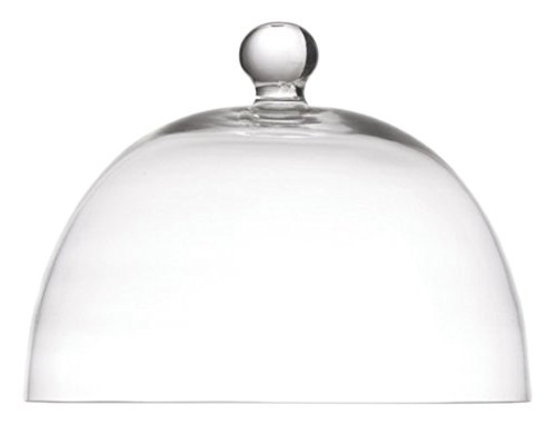 la Porcellana Arezzo Glas Dome D12cm, weiß