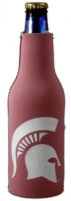 Michigan State Spartans Pink Bottle Suit Koozie Cooler