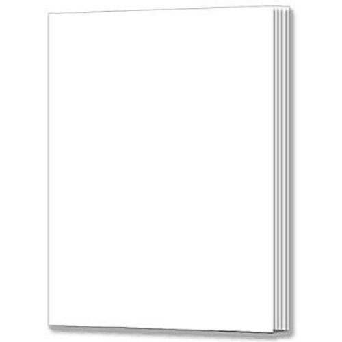 Rectangle Blank Book For Young Authors  Grades K   3