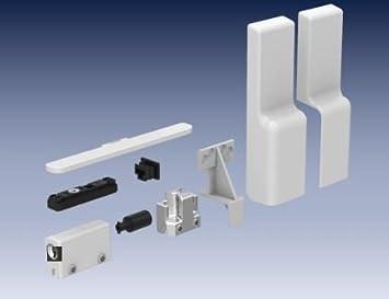 Gu accesorios para puertas correderas Blanco, adecuado para 200 kg Variante, incl. Bisagra búfer 30848 y tope 43224: Amazon.es: Bricolaje y herramientas