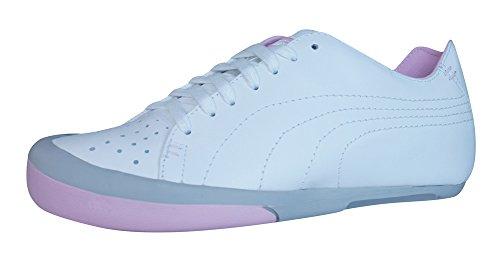 Puma French 77 Zapatillas de cuero de las mujeres - blanco White