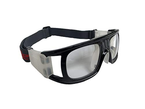 9352a9a31ffd Freebee Sports Goggles Safety Glasses Protective Goggles for Adult  Basketball Football Raquetball Volleyball Soccer Badminton Baseball Tennis  (Black)