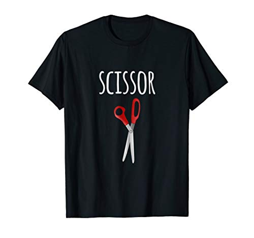 Rock, Paper, Scissors Matching Halloween Costumes T-shirt -