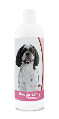 Poo Dog Breeds (Healthy Breeds Deodorizing Dog Shampoo for Shih-Poo - Over 200 Breeds - Hypoallergenic Formula - For Itchy, Sensitive, Dry, Flaking, Scaling Skin and Coat - 16 oz)