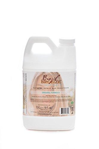 Brazil Bronze Luxury Original Spray Tan Solution/64oz by Brazil Bronze Glow Bar