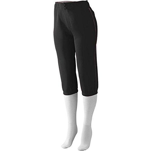 Augusta Sportswear Girls 'ドライブLow Riseソフトボールパンツ B00IUJ7EM0 Small ブラック/ブラック ブラック/ブラック Small
