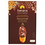 2 box of ALMOND CRUSH CHOCOLATE DIPPED DEIED BANANA 180G.