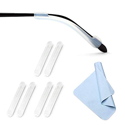 XIANEWS Silicone Eyeglasses Temple Tips Sleeve Retainer
