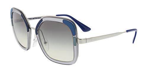 Prada PR57US LMD/130 Transparent Grey PR57US Square Sunglasses Lens Category 2