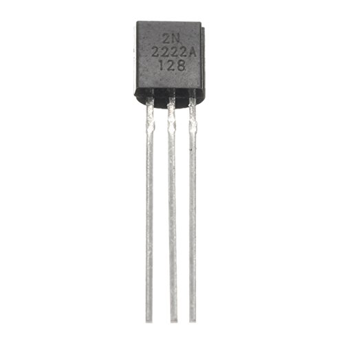 CCChaRLes 10Pcs 40V 0.8A Npn Transistoren 2N2222 To-92 F/ür High-Speed-Switching