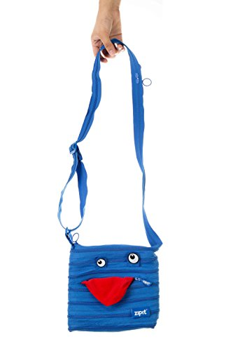 ZIPIT Monster Children Mini Shoulder Bag, Blue Photo #2