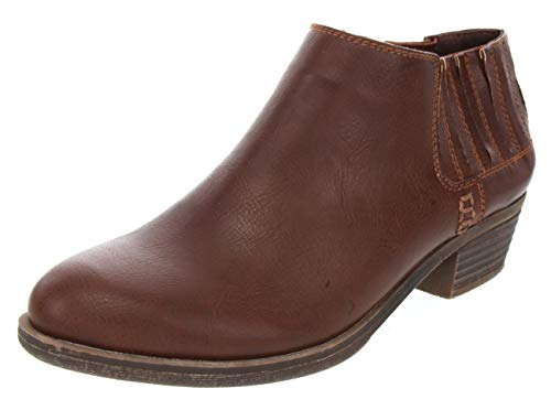 - Sugar Women's Tess Ankle Bootie 10 Cognac Smooth