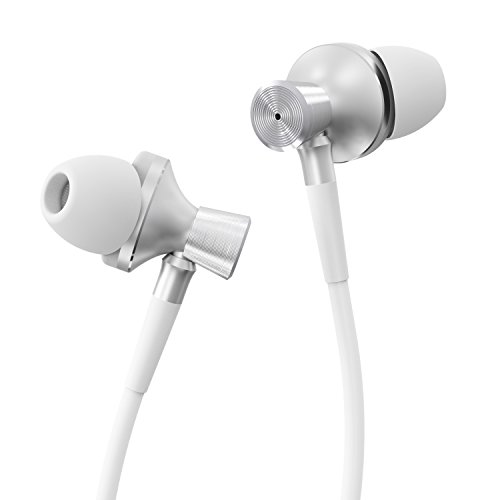 Hiearcool Y2 Wired In-Ear Headphones, Stereo Sound HiFi Earphones with Mic for All 3.5mm Interface Devices