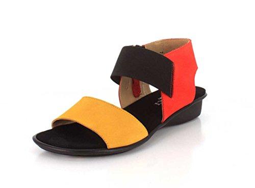 Soft Elastic Black Womens Eirlys Coral Nabuk Meucci Nabuk Sesto Mustard Soft FwqUWS4