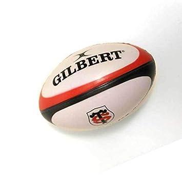 GILBERT balón de rugby Stade Toulousain antiestrés: Amazon.es ...