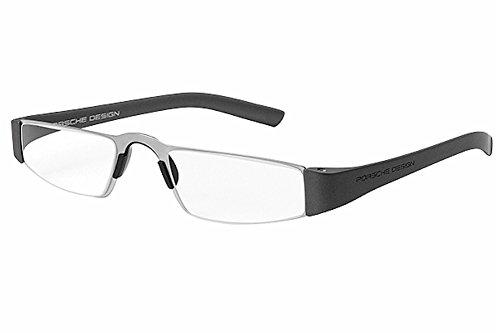 Porsche Design P8801 Eyeglasses 8801 F Men frame Gun Metal, Silver 48mm,Power - 2016 Glasses Frames Mens