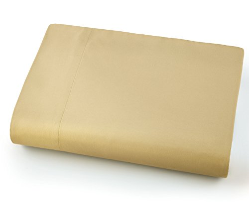Southshore Fine Linens - Oversized Flat Sheets Extra Large - 132 Inches x 110 Inches (Gold) (Flat Sheets Only)