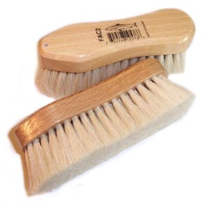amazon com pure goat hair small horse face brush with varnished