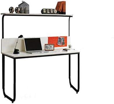 XIA Computadora de Escritorio, área de Trabajo con 2 Niveles de Almacenamiento Estructura de Metal Mesa