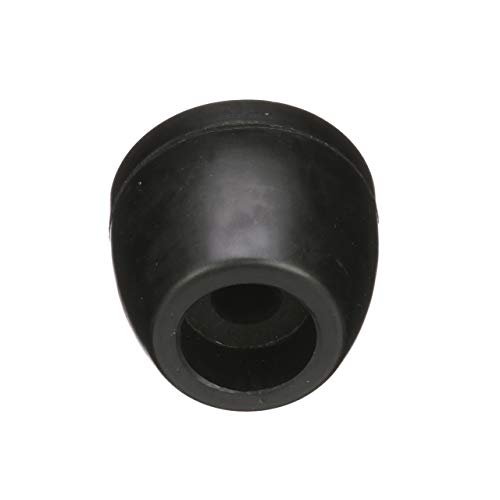 (Seachoice 56380 Molded Side Guide End Cap - Black Rubber - 2-1/2 Inches Wide - 5/8 Inch ID)