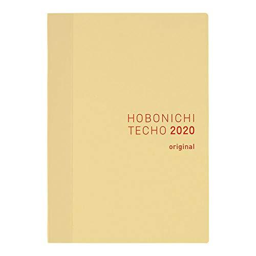 Hobonichi Techo Original Book (Japanese/A6/Jan 2020 Start/Sun Start)