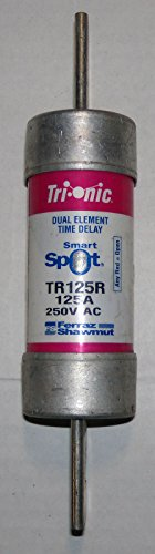 Tri-onic Smart Spot 125 Amp Fuse 240/250 Volt TR125R (Tri Onic Fuse)
