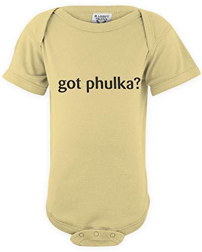 shirtloco Baby Got Phulka Infant Bodysuit, Banana 6 Months