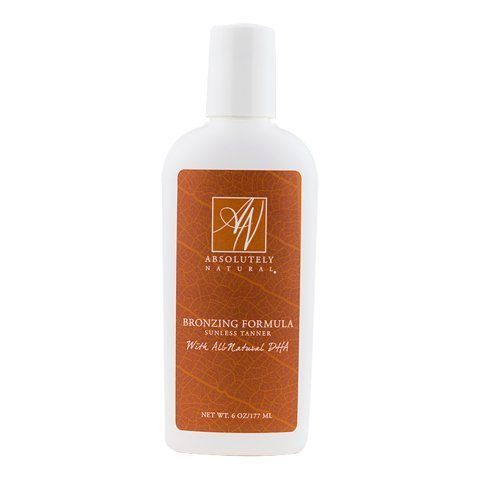 Self Tanner Bronzing Formula - Made with All Natural DHA Absolutely Natural Inc.