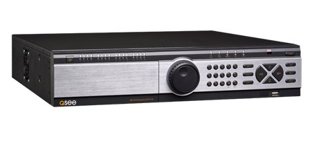 Q-See QT7116-2 16-Channel 1080p Real Time SDI DVR and Pre-Installed 2 TB Hard Disk - Black by Q-See