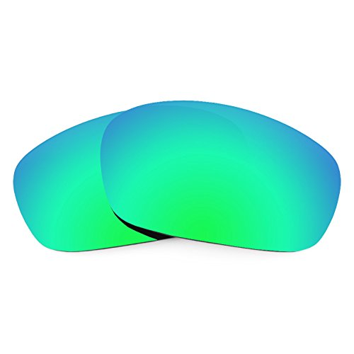Revant Polarized Replacement Lenses for Oakley Jawbone Emerald Green - Lens Emerald
