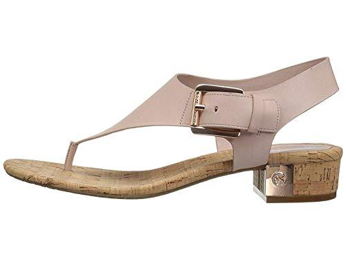 Leather Kors Michael Thongs (Michael Michael Kors Womens London Thong Leather Split Toe, Soft Pink, Size 6.5)