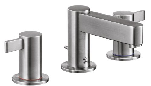 Hansgrohe Axor Widespread Faucet, Stainless Steel Optic #35033801